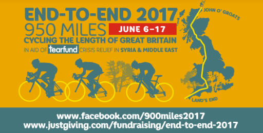 Tearfund ride