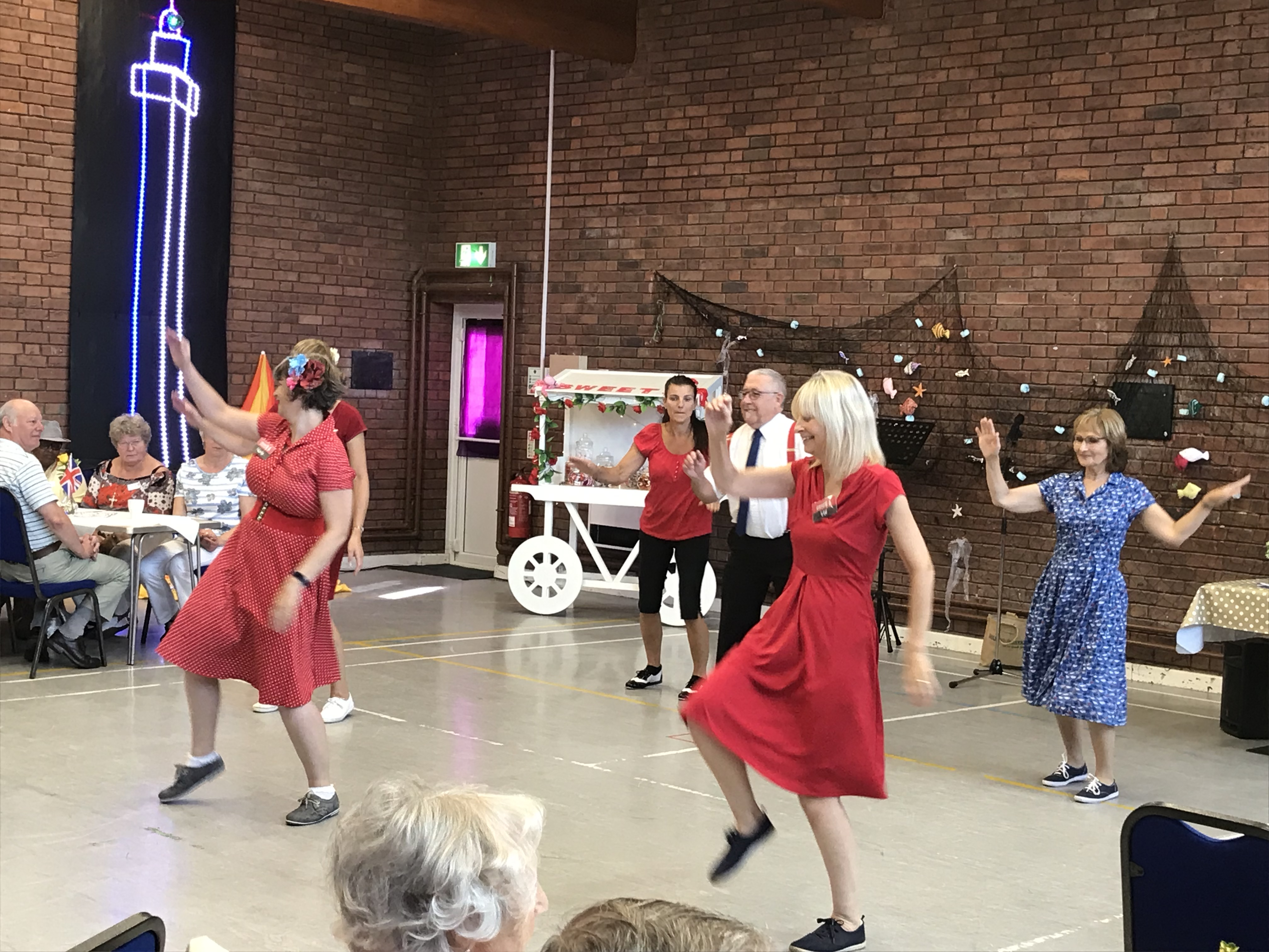 Holiday at Home Swing Dance MK