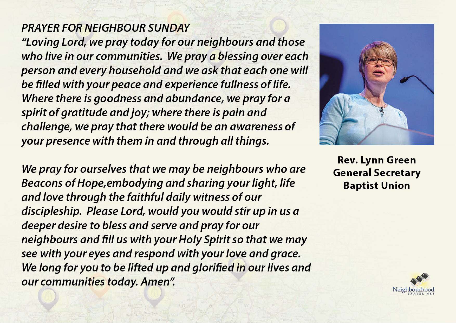 Prayer - Lynn Green - Neighbou